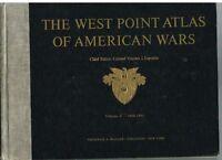 West Point Atlas Of American Wars 2 Vol. 1960 Rare Vintage Book! $
