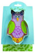 NEW Ann Clark Tin OWL Bird Cookie Cutter with Recipe Attached Made in USA