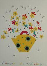 Open Birthday Card - Turnowsky Art -  with Cream Envelope