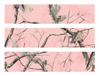 Pink Realtree Camo edible cake strips cake wraps decorations frosting strips