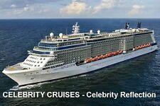 SOUVENIR FRIDGE MAGNET of CRUISE SHIP CELEBRITY REFLECTION - CELEBRITY CRUISES
