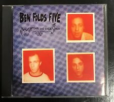 BEN FOLDS FIVE 'Whatever And Amen' 1997 CD Album