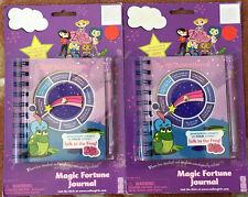 Lot Of 2 Vintage Magic Fortune Journals