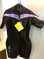 Henderson 3MM Thermopreme Womens Size 16 Scuba Shortie Scuba Wetsuit