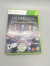 Injustice: Gods Among Us - Ultimate Edition (Microsoft Xbox 360, 2013) W/ Manuel
