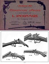 Ancion-Marx (Liege) Gun Catalog - 1909