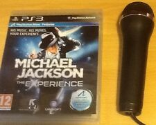 Like Lips Singstar Michael Jackson Thriller The Experience PS3 1 USB Microphone