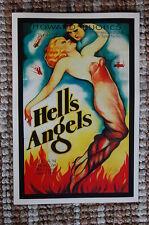 Hell's Angels Lobby Card Movie Poster Jean Harlow - Howard Hughes