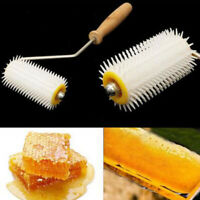 Bee Honey Extracting Uncapping Needle Roller Plastic Beekeeping Comb Tools Ki-
