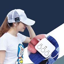 Cool Bluetooth Music Sunhat Cap Handsfree Headphone Built-in Speaker Mic
