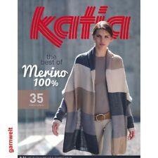Katia R-3 Merino 100% Strickheft mit Strickanleitungen