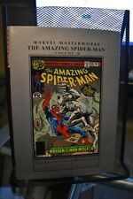 Marvel Masterworks Amazing Spider-Man Volume 18 Hardcover Rare Oop Man-Wolf