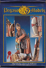 PEGASO MODELS 54-125 - NORMAN KNIGHT 1061-1099 - 54mm WHITE METAL NUOVO