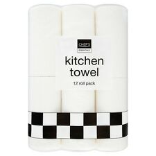 Chef's Essentials Kitchen Roll 36 Roll Bulk Pack 3 x 12 packs