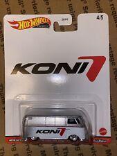 Hw's Pop Culture Speed Shop Garage Volkswagen T1 Panel Van (Koni) (Real Riders)