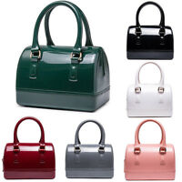 Candy Color PVC Jelly Bag Pillow Handbag Women Mini Cross-body Shoulder Bags New
