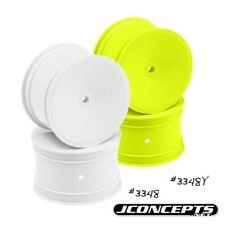 J Concepts - Mono - B4.1/B44.1/RB5 - 12mm Hex Rear Wheel (White) - 4pc