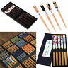 1/5 Pairs Natural Bamboo Wood Chopsticks Japanese Style Reusable Kitchen Utensil
