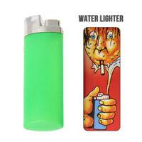 April Fools' Day Water Squirting Cigarette Lighter Joke Prank Fun Trick Gag Toy