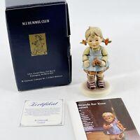 "Goebel Hummel ""Flower Girl"" #548 TMK7 5 Yr Exclusive Edition Figurine 5"" w/ Box"