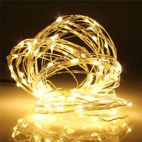 10M 100LED USB LED Copper Wire Fairy String Light Wedding Xmas Party Decor