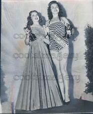 1948 Miss Minnesota Miss America BeBe Shopp Press Photo