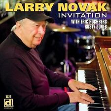 LARRY NOVAK - INVITATION NEW CD