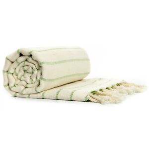 "Turkish Bath Towel Peshtemal Yoga Spa Beach Towel Pareos Bamboo/Cotton 35""x70"""