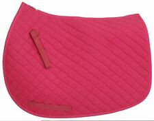 TuffRider Hot Pink All Purpose Saddle Pad - Full Size