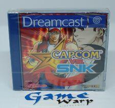 Capcom vs SNK Dreamcast (DC) - PAL - NUOVO - NEW
