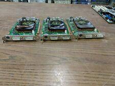 Lot of 3 Dell WH242 Nvidia Quadro FX 3500 PCIe x16 2x DVI-I Video Graphics Card