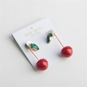 Kate Spade New York Cherry Threader Earrings