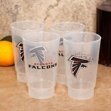 NFL Atlanta Falcons 16 Ounce Acrylic Tumbler 4 Pack