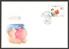 Cover PORTUGAL First Day 1989 EUROPA, CHILDRENS GAMES 26/04/89
