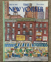 COVER ONLY ~ The New Yorker Magazine, July 18, 1983 ~ Barbara Westman