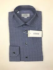 "ETON - Contemporary Check Shirt - Multi - 17.5""/44cm - *NEW WITH TAGS* RRP £135"