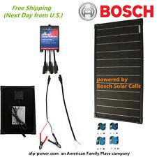 Bosch Plug-n-Power Kit 30W 30 Watt Mono Solar Panel Charger 12v Off Grid Battery