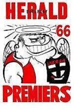 St Kilda Saints 1960s AFL & Australian Rules Football Memorabilia