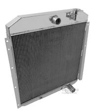 Champion 3 Row All Aluminum Radiator For 1955 - 59 GMC Truck