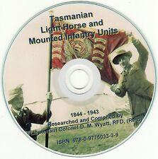 Tasmanian Light Horse, 1844 - 1943