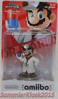 Dr. Mario Amiibo Figur No. 42 - Super Smash Bros. Neu OVP WIIU