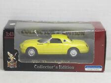 Ford Thunderbird Cabrio mit Hardtop (2000) in gelb, OVP, Road Signature, 1:43