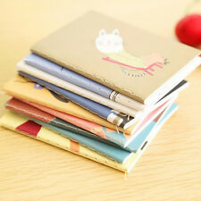 2Pocket Cartoon Diary Planner Notepad Notebook Write Paper Handy Memo Journal LL