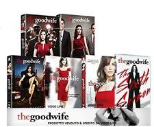 Dvd THE GOOD WIFE - Stagione 01-02-03-04-05-06 (Box 36 Dischi) Serie Tv .NUOVO