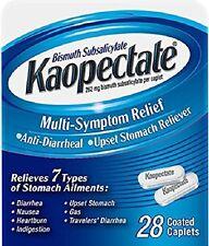 Kaopectate Caplet  Anti-diarrheal upset stomach 28ct