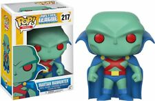 Funko POP ! Martian Manhunter - 217 - Heroes - Justice League Unlimited - New!!!