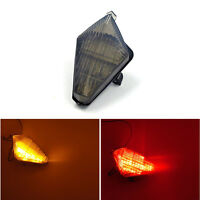 Smoke Motorcycle LED Brake Turn Signal Tail Light FitFor Yamaha YZF R1 2007-2008