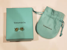 Return To Tiffany & Co 18k Pink Rose Gold Circle Round Stud Earrings BRAND NEW