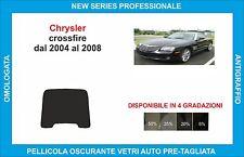 pellicole oscuranti vetri chrysler crossfire dal 2004 al 2008 kit lunotto