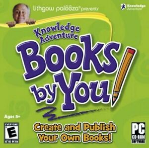 Age 8+ Books By You Create & Publish Your Own PC Windows XP Vista 7 8 10 Sealed